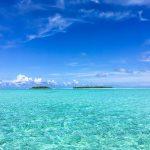 In der Ferne zwei Inseln