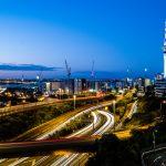 Auckland bei Nacht - Wollten wir euch nicht vorenthalten ;)