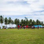 Das große Oster-Volleyballturnier auf Aitutaki