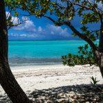 Aussicht beim Mittagessen beim zweiten Lagoon-Cruise