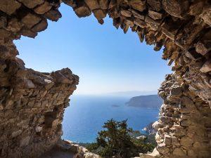 Blick von der Festung Monolithos