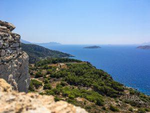 Blick von der Ruine Kritinia