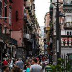 Touri-Straße in Neapel
