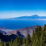 Blick auf den Vulkan Teide von Teneriffa
