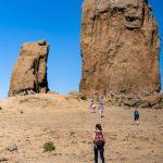 Am Fuße des Roque Nublo