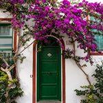 Welch eine Schönheit von Tür!