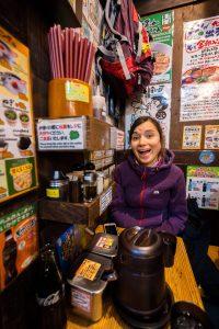 Unsere erste Ramen Suppe in Japan