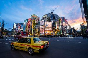 Erste Eindrücke von Tokio