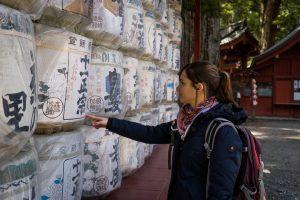 Sake Fässer in Nikko