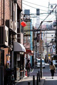 Straßen von Osaka