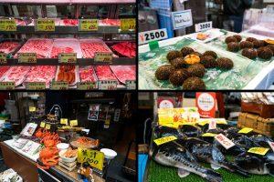 Impressionen Markt in Osaka