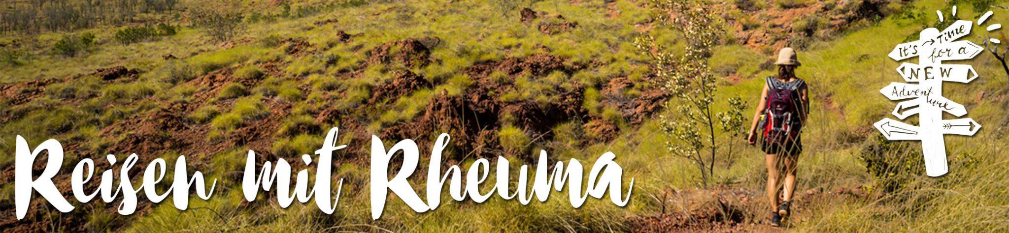 Reisen mit Rheuma